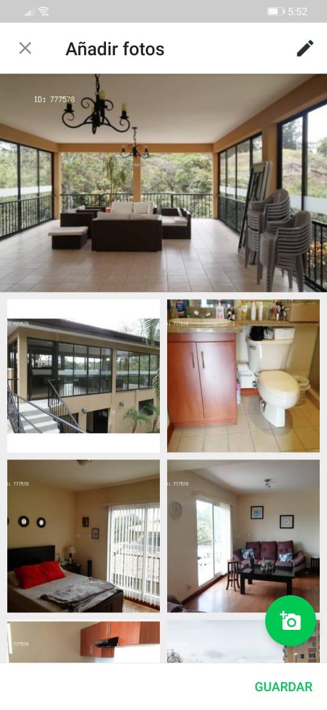 2242 Se vende apartamento en Escazu.
