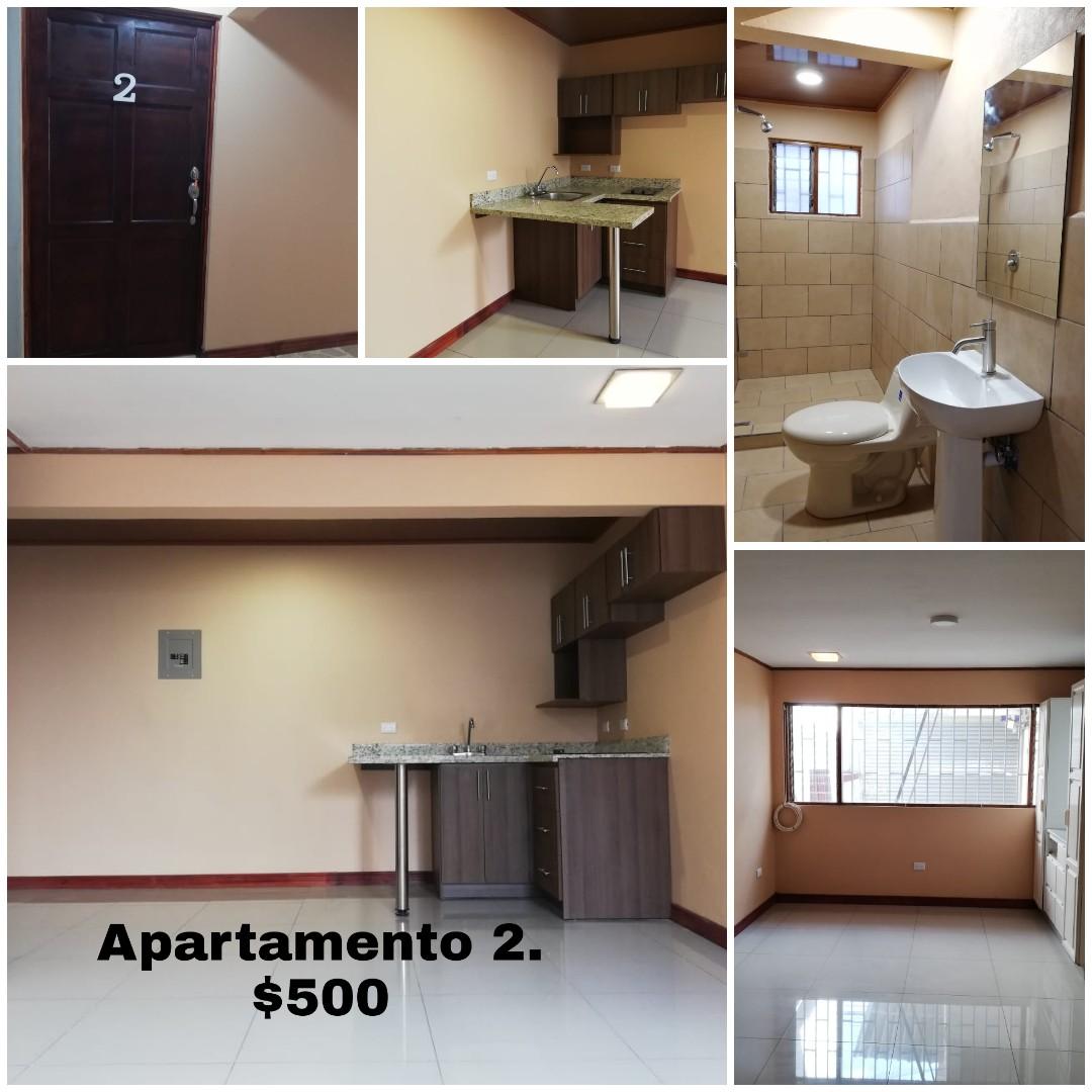 2203 Alquilo Apartamento en Sabana Sur