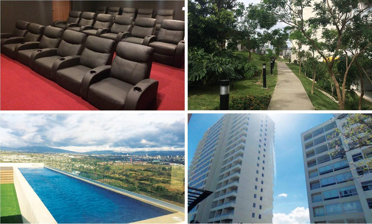 2392 Apartamento Amoblado en Barreal de Heredia