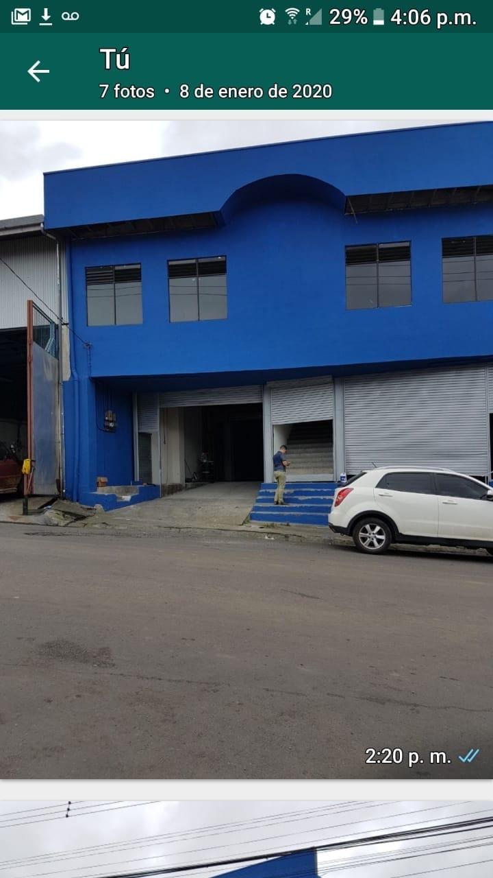2511 Oportunidad! Bodega Industrial para la venta en Tibas cerca de Metalco.
