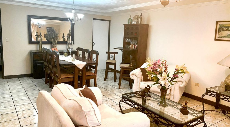 Foto sala comedor Casa Bouganvillea