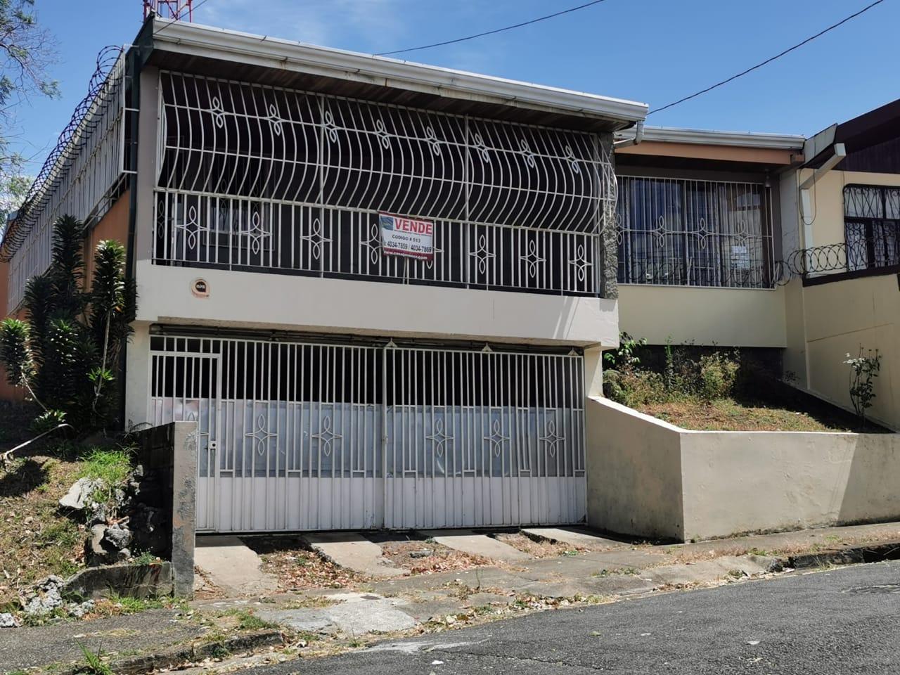 513 Se Vende Casa en Rohrmoser. Cerca del Colegio Humboldt