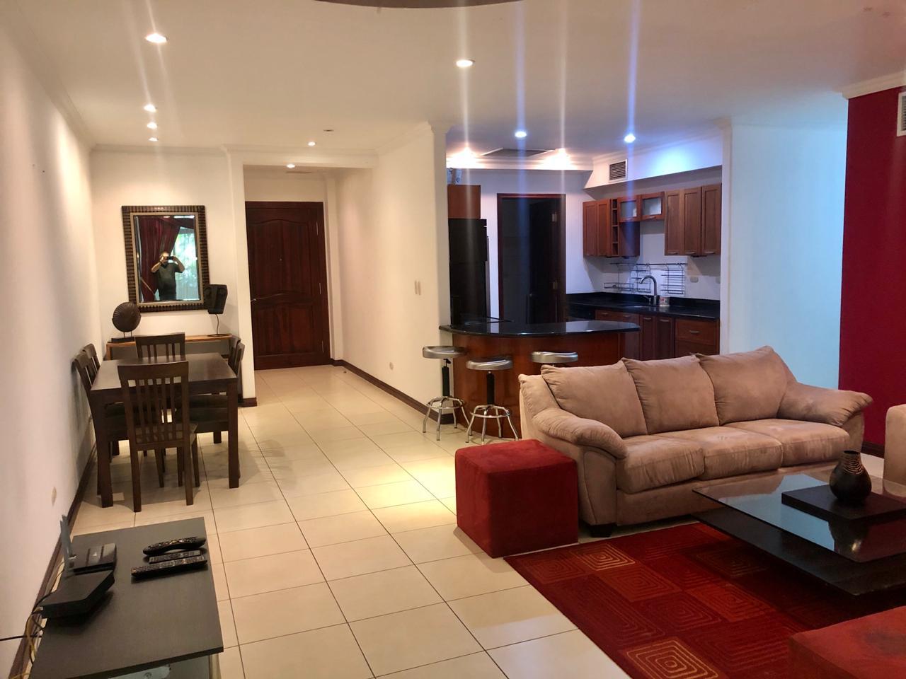 3010 Se Alquila apartamento amueblado en Escazu