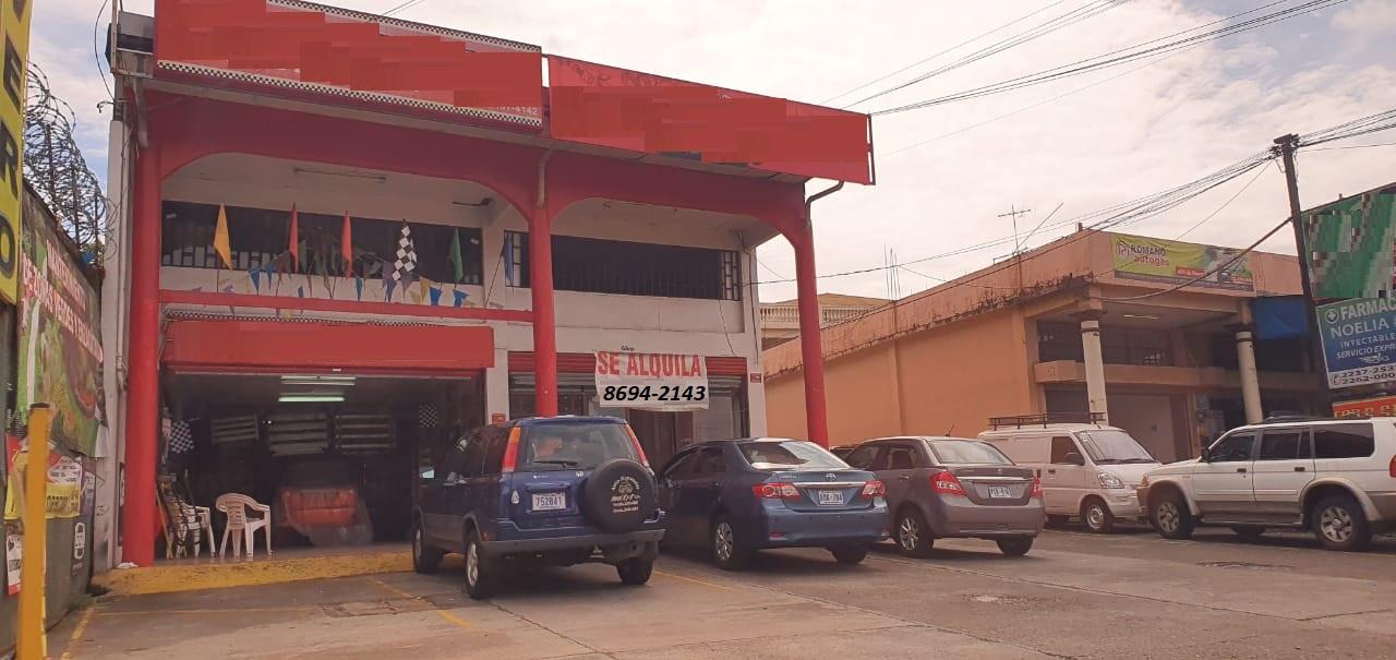 3012 Se alquila local en Santa Lucia de Barva.