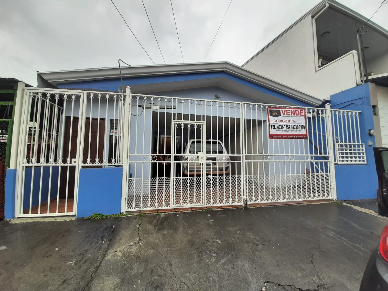763 Se vende casa en San Pedro de Barva de Heredia.