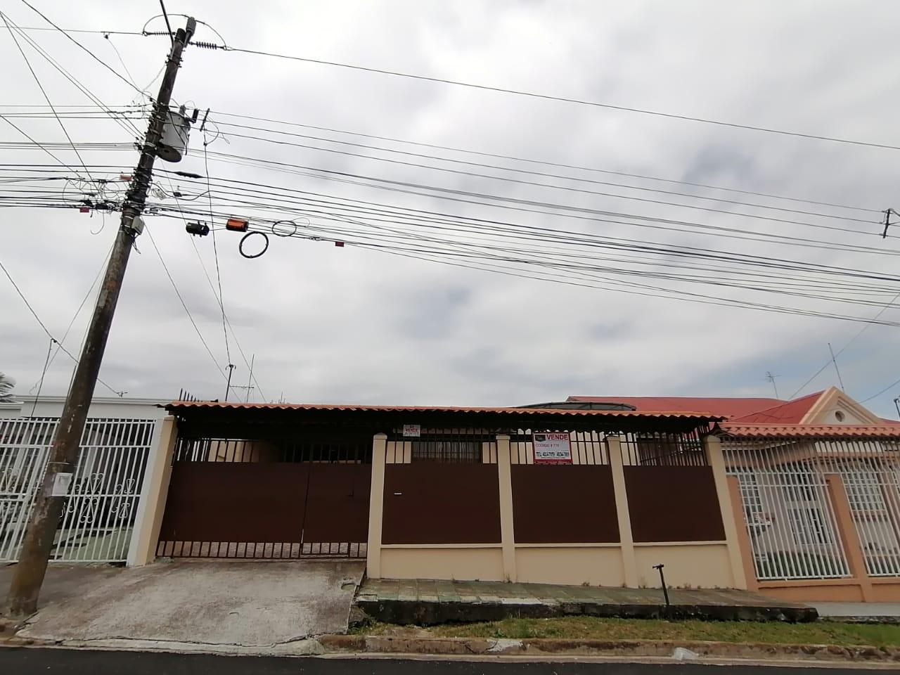 779 Se Vende Casa independiente en Pavas